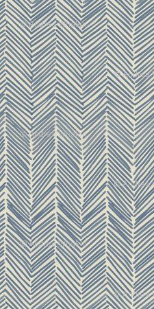 Fabric - Freeform arrows in navy by Domesticate