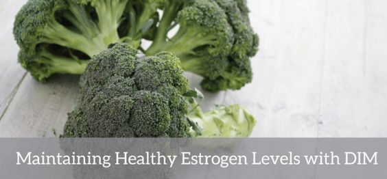 Maintaining Healthy Estrogen Levels with DIM