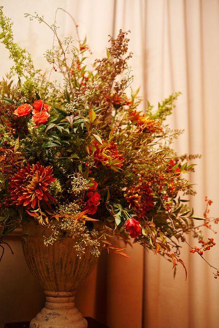 Autumn arrangement floral centerpiece www Fall floral arrangements