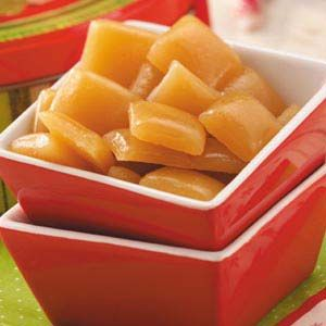 Butterscotch Hard Candy Recipe | Taste of Home Recipes My favorite hard candy....I see this as my husband's work Christmas gifts