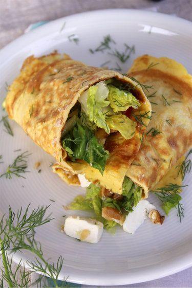 Gefülltes Omelett © ulla trulla backt und bastelt