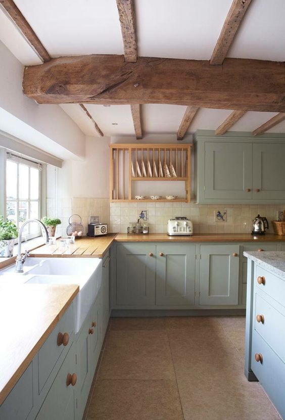 Country Kitchens Inspiration Shaker Cottage Farmhouse With