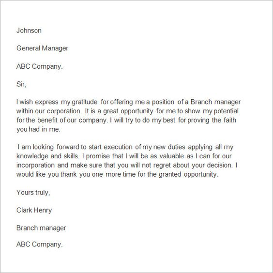Thank You Letter Boss After Resignation Important Format Simple