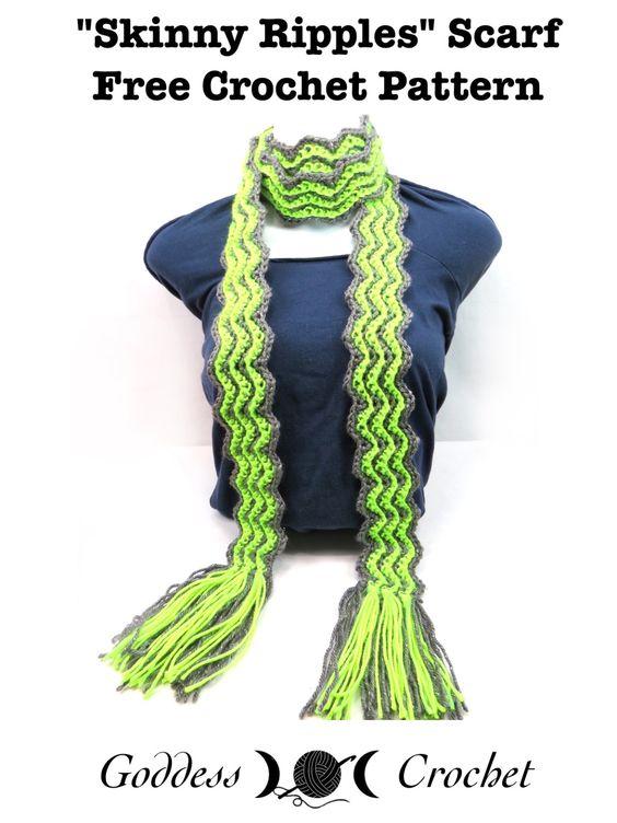 Free Crochet Patterns For Skinny Scarf : Pinterest ???? ????????? ????? ??? ??? ??? ?????