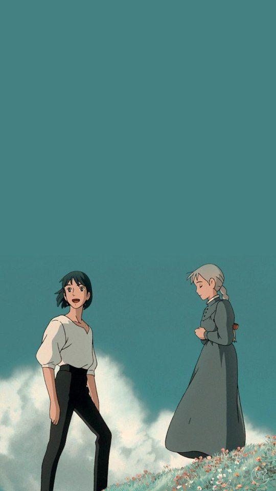 Howl S Moving Castle Studio Ghibli Background Ghibli Artwork Howls Moving Castle Colorful anime movie wallpaper