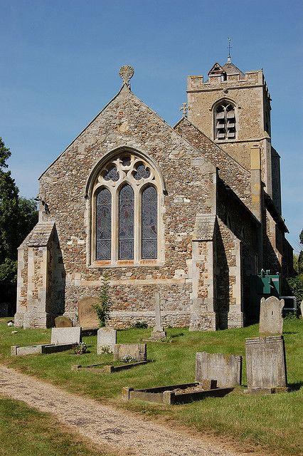 St. Andrew's church in Caxton, Cambridgeshire.