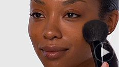 Dewy Skin Look How-To Video Featuring the Lancôme Powder Brush #1