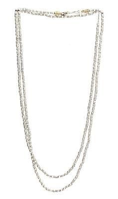"""Barbara Bixby Sterling Silver & 18K Gold 36"""" Couture Market Chain Necklace https://t.co/G6RYWUk7y7 https://t.co/1Z707NbcGG"""