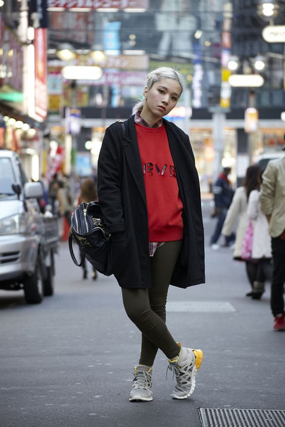 Tomoko Takani   CANDY Vice Shop Manager   # TOKYO # sneaker boots