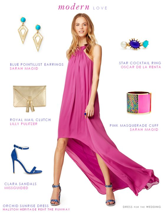 Chic Wedding Guest Attire : What to wear wedding guest and on