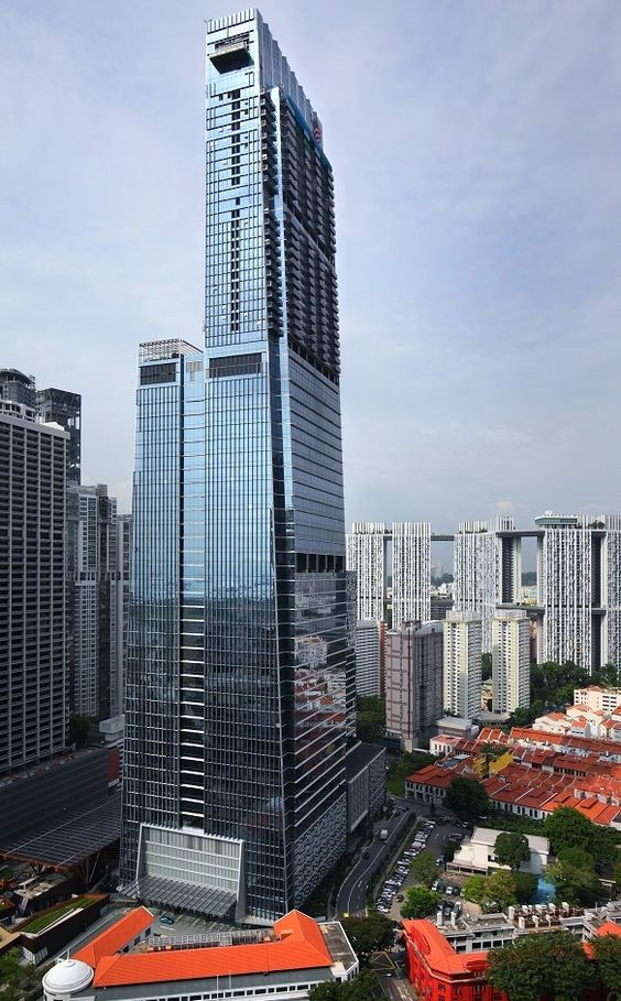 Top 10 Tallest Buildings In Singapore