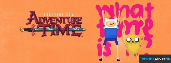 Adventure Time With Jake And Finn 2 Facebook Cover Timeline Banner For Fb76 Facebook Cover