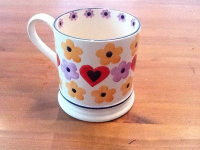 20 years of Emma Bridgewater Hearts & Flowers 1 pint mug