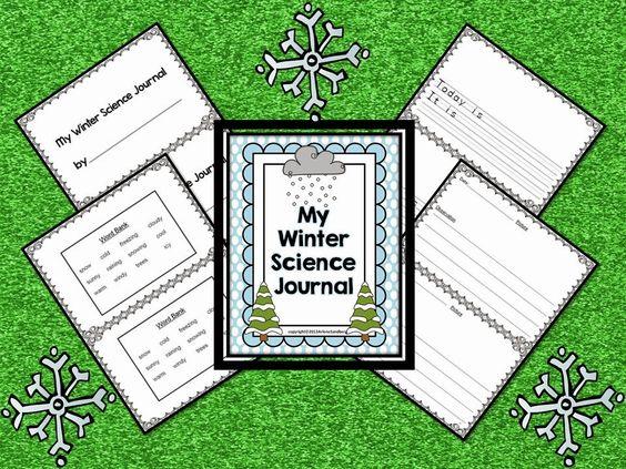 Winter Science Journal #ClassroomFreebies