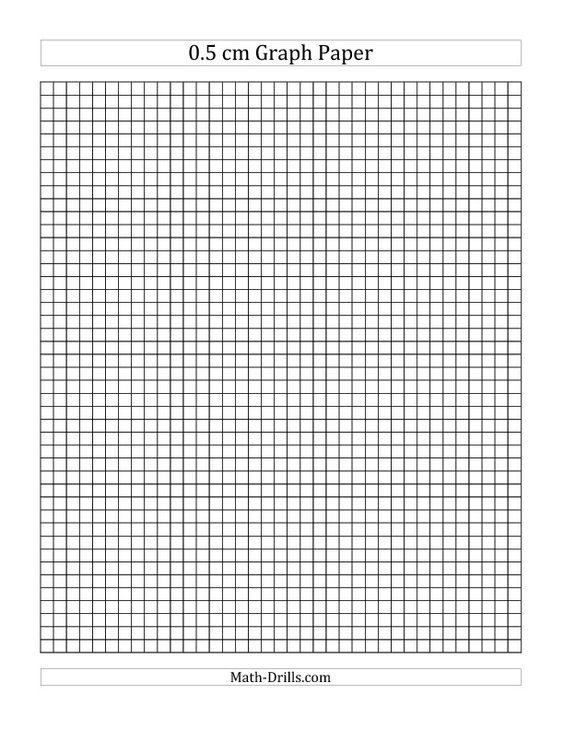 0 5 cm graph paper  all