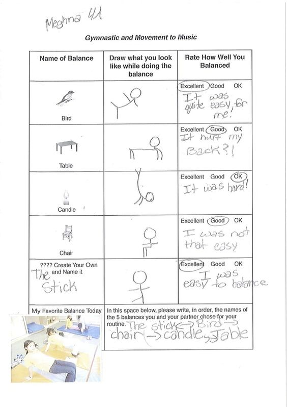 Balance psych and ed Casual Work Pinterest - physical education lesson plan template