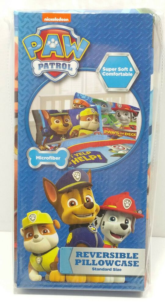 New Nickelodeon Paw Patrol Jumbling Tower 48 Wood Pieces Blue Red Yellow