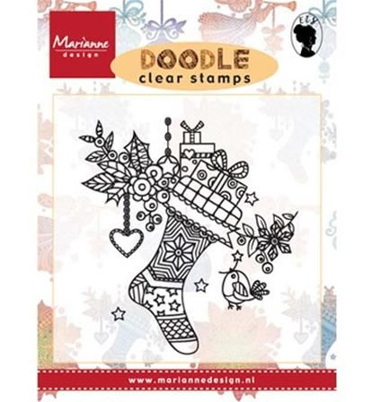 Boutique scrapbooking - Tampon Marianne Design noel chaussette