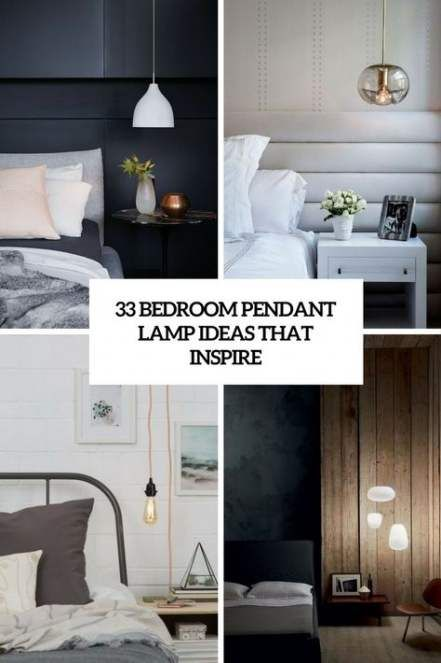 Trendy Bedside Pendant Lighting Apartment Therapy 62 Ideas