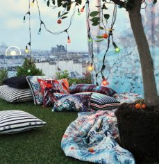 Jean Paul Gaultier has partnered with our Paris-based fabric specialist, Lelievre for couture home textiles!