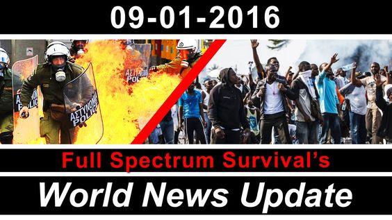 FSS World News Update - Coming Violence and Riots - Internet Shutdown - ...