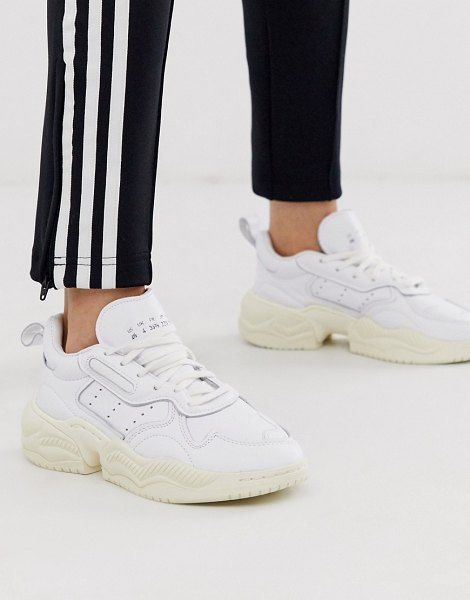 adidas Originals Supercourt 90's Sneakers In White in 2020