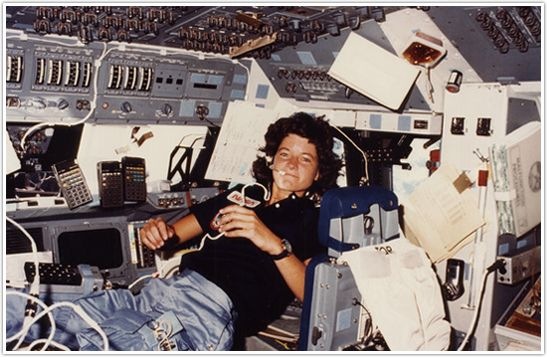 Sally Ride, trailblazing first American woman in space, died peacefully on July 23rd, 2012.