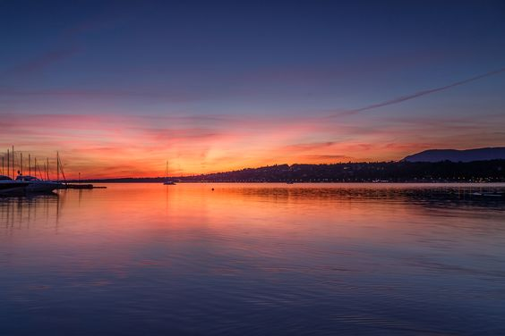 Sunrise @ Lake Geneva