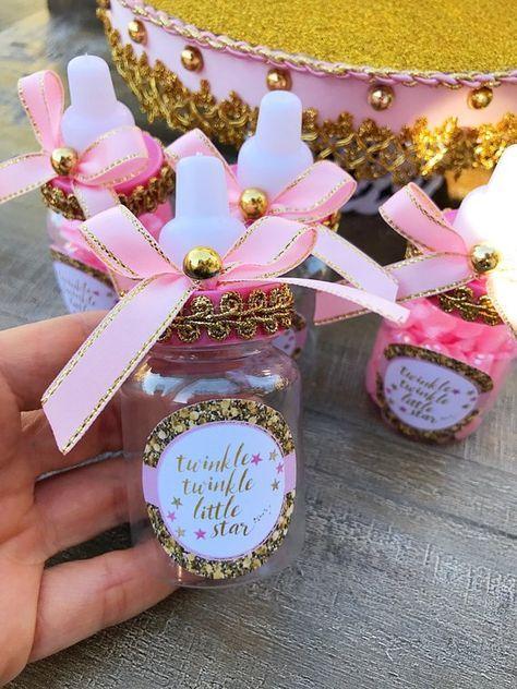 Petites boîtes cadeau pour baby shower fille