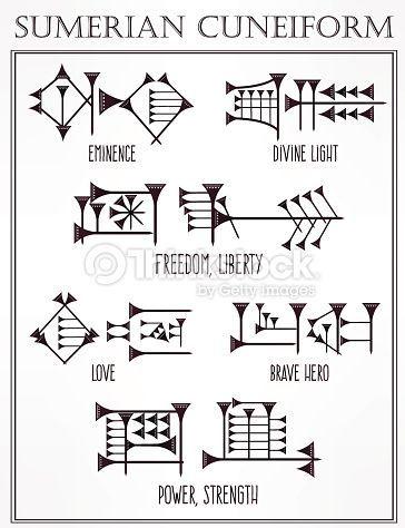 ancient sumerian symbols - Google Search