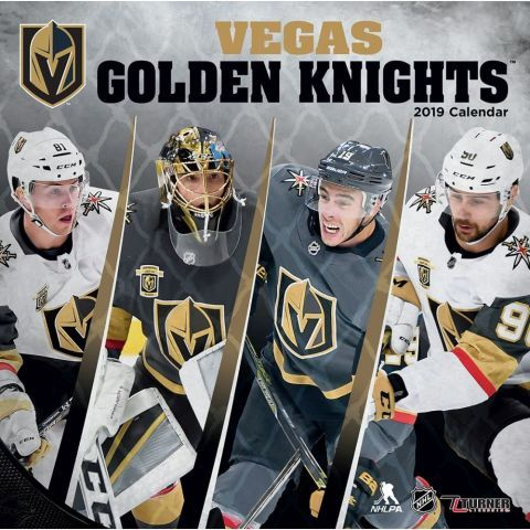 Nhl Vegas Golden Knights Calendar This Wall Calendar Is A Must Have For Any Die Hard Vegas Golden Knights Fan Made Vegas Golden Knights Golden Knights Knight