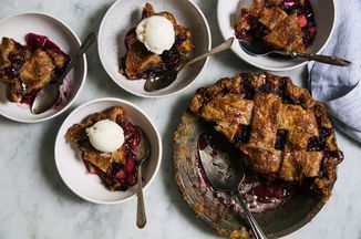 Blackberry Rhubarb Pie Recipe on Food52 recipe on Food52