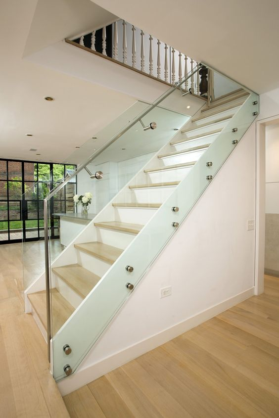 Glass railing railings and stainless steel on pinterest for Ss glass railing images