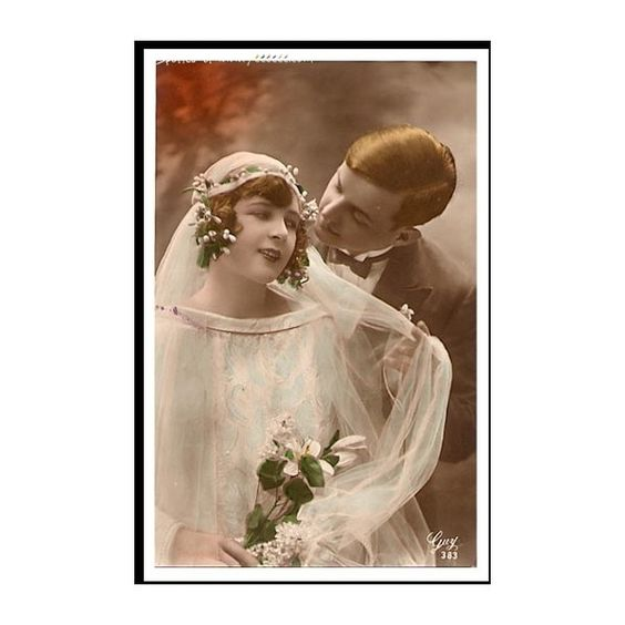 Vintage Wedding Photo Collection   111 Pics   Yeeeeee   Painting, Art,... ❤ liked on Polyvore featuring people, vintage, vintage photos, backgrounds and wedding