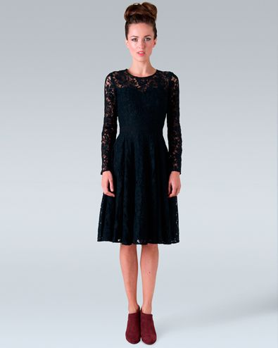 funeral dress - Little Black Dress - Pinterest - Lace- Funeral ...