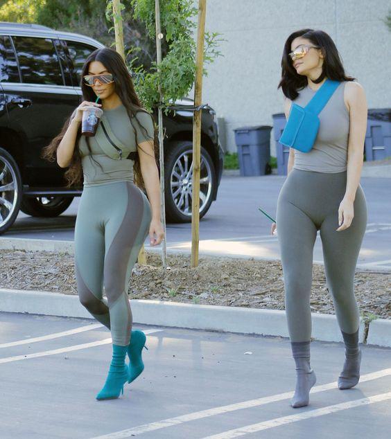 Kim Kardashian West is Modeling Yeezy on the Street Again