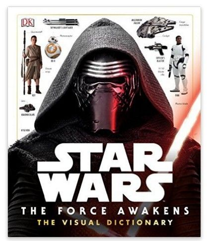 Save 40% on the Star Wars: The Force Awakens Visual Dictionary, Free Shipping Eligible!