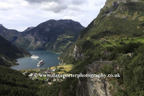 Dave Porter Photography - Norwegian mountains and fjord