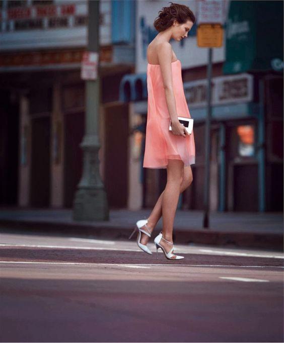 La Vie En Rose: Drake Burnette By Nathaniel Goldberg For Harper's Bazaar February 2014 #pink