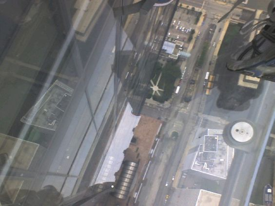 Skydeck @ The Sears Tower (It will always be the Sears Tower to me) July 2012