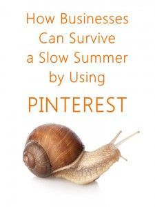 You can dramatically increase your website traffic by using Pinterest properly. It's all about understanding your business, and then knowing how to use Pinterest to drive traffic to your website, while keeping in mind the most important thing: relationship building. Below are some pointers so that you can use Pinterest wisely. We hope to see your business thrive this summer!