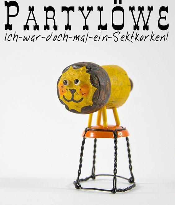 Vom Sektkorken zum Partylöwen