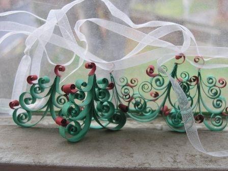Whimsical Christmas Tree Garland