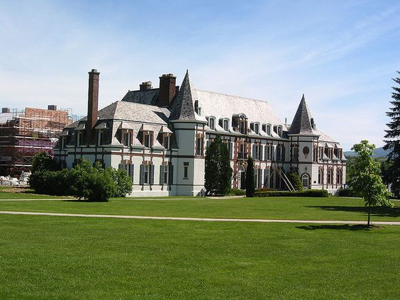 Chateau at Middlebury College in Vermont