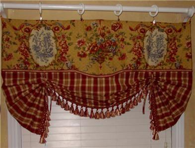 tuscan Kitchen Window Treatments | Tuscany Kitchen Curtain - Directories for Kitchen Interior Design