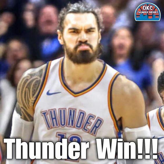 Pin By Kari Mcc On Steven Adams Thunder Oklahoma City Thunder Sports