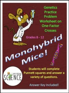"FREE SCIENCE LESSON – ""Monohybrid Mice! (Monohybrid Genetics Problems)"" - Go to The Best of Teacher Entrepreneurs for this and hundreds of free lessons.  7th - 12th Grade      #FreeLesson       #Science     http://thebestofteacherentrepreneursmarketingcooperative.net/free-science-lesson-monohybrid-mice-monohybrid-genetics-problems/"