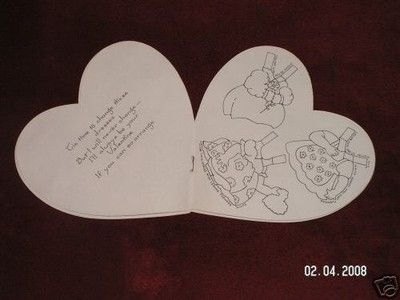 Antique Paper Doll Valentine Card w/Paint Kit (1930s) (02/09/2008)