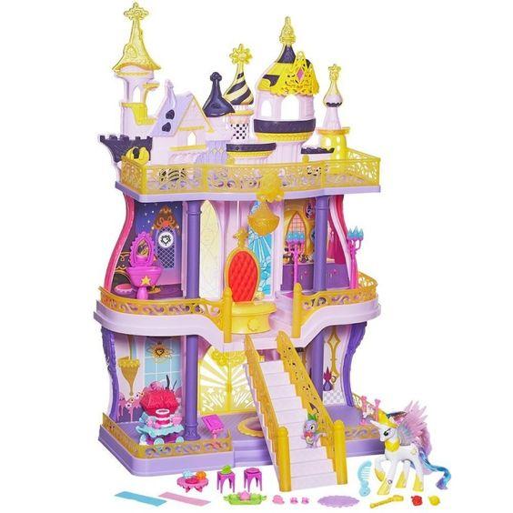Juguete MY LITTLE PONY EL CASTILLO DE CANTERLOT Precio 77,25€ en IguMagazine #juguetesbaratos