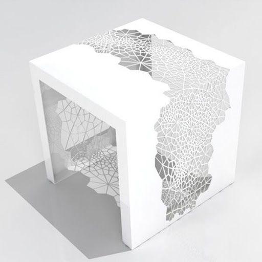 Table Dentelle Design Contemporain decodesign / Décoration